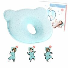 Baby Pillow, Toddler Pillow, Cushion for Flat Head Syndorme Prevention & Head Sy