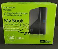 WD Western Digital My Book Essential 160 GB USB 2.0 Desktop External Hard Drive