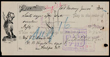 UNION BANK OF HALIFAX - PROMISSORY NOTE - 1900 - PORT MEDWAY, N.S.- POP. 200