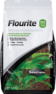 Seachem Flourite Substrate Gravel Sand Planted Aquarium Fish Tank 7Kg