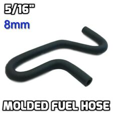 """Universal 5/16"""" Molded Fuel Line Cut-Your-Own Rubber Hose Elbow 45° 90° 180° 8mm"""