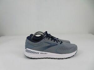 Brooks Beast 20 Blue/Gray Running Walking Athletic Shoes Mens Size 11 Medium