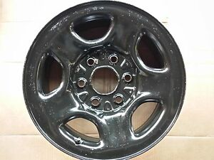 "16"" Chevrolet Express Silverado Tahoe Suburban Sierra Savana Steel Wheel Rim OEM"