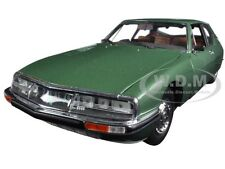 1971 CITROEN SM GREEN METALLIC 1/18 DIECAST CAR MODEL BY NOREV 181567