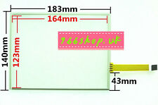 "For 8"" inch 4 wire for AT080TN52 V1 Touch Screen Glass 183*140mm"