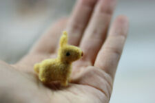 Needle felted hare  miniature animal
