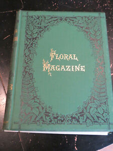 Floral Magazine New Series 22 plates 1880, London Hand Colored lithographs