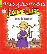MES PREMIERS J'AIME LIRE sans CD * Betty La Terreur ° n° 102  * CP / CE1