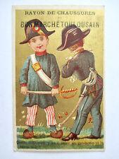 Chromo du Bon Marché Toulousain (Devinette) Gendarmes