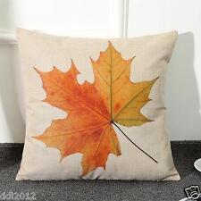 Maple Print Sofa Bed Home Decoration Festival Pillow Case Cushion Cover Linen