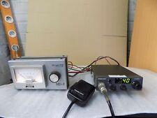 cb radio 27mhz PRESIDENT HARRY   Transceiver 40 cx AM-FM + MD-3 SIGNAL METER