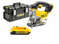 DeWalt 18v XR Cordless DCS331 Jigsaw + DS300 Hard Case + DCB183 2.0ah Battery