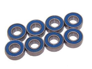 Traxxas 37076-4 Rustler 2wd VXL Brushless Wheel / Axle Bearings Set of 8