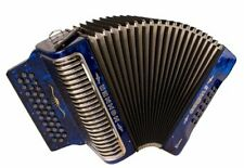 Hohner Button Accordion Corona II XTREME FBbEb, With Bag And Straps, Dark Blue