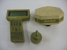LEICA WILD GPS SYSTEM 200 (WILD SR299 & WILD CR233) FOR SURVEYING
