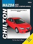 Chilton Mazda 3 2004-11 Repair Manual 46804 Shop Service Garage Book