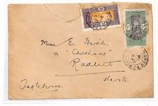 HH55 1926 FRANCE Colonies DAHOMEY *Porto-Novo* Cover Radlett Herts