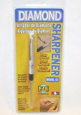 EZE-LAP Diamond Pocket Knife Sharpener All Blades Including Serrated Knives