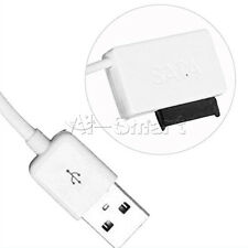 White SATA Slimline to USB 2.0 Adapter Cable Laptop CD DVD Rom Drive 7+6 13Pin A