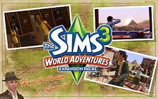 Los Sims 3 Aventuras Del Mundo (Pc/Mac, región libre) Origin clave de descarga