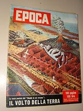 EPOCA=1955/270=IL VOLTO DELLA TERRA=PARTITO RADICALE=PAPA PIO XII BEATIFICAZIONE