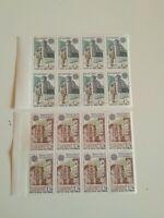 8  paires 276 et 277 EUROPA andorre 1979 neuf xx cote 96 euros