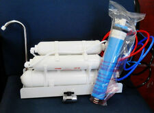 Counter top Reverse Osmosis Water Filter 4 STAGE-100 GPD Drinking water System