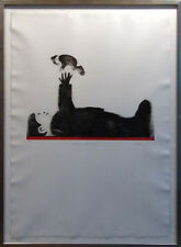 "Mackenzie Thorpe ""Playing with Baby"" H.Signed with custom frame Make an Offer!"