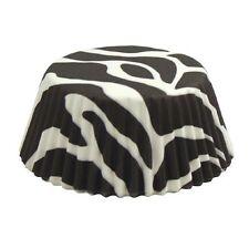 Fox Run Baking Cups Zebra print Regular Standard Muffin Cupcake Liners 50 ct