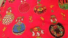 air balloon christmas  fabric PRICE PER 1/2 yard