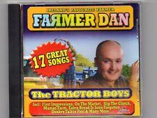 FARMER DAN - THE TRACTOR BOYS - CD -Free Post UK