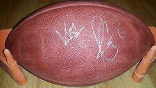 RARE JAY CUTLER KRISTIN CAVALLARI signed NFL Game football JSA PROOF BEARS