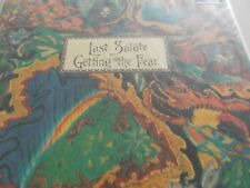 """GETTING THE FEAR - LAST SALUTE - UK 3 TRK 12"""" P/S VINYL - SOUTHERN DEATH CULT"""