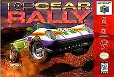 TOP GEAR RALLY N64 NINTENDO 64 GAME COSMETIC WEAR