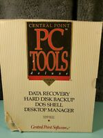 PC Tools Deluxe version 6 (IBM PC/DOS, 1990) | Central Point Software 3.5 5.25