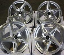 """18"""" SMF R-4 ALLOY WHEELS FITS 5X98 ALFA ROMEO 147 156 164 GT FIAT 500L DOBLO"""
