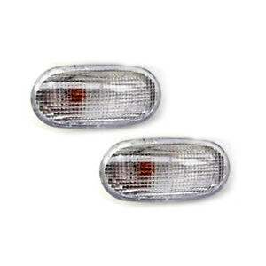 2X CLEAR SIDE LIGHT REPEATER INDICATORS MITSUBISHI L200 MONTERO GALANT LANCER