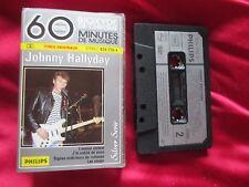 johnny hallyday rare k7 audio cassette tape