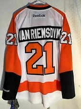 Reebok Premier NHL Jersey PHILADELPHIA Flyers James Van Riemsdyk White sz XL