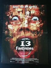 N237 Poster Cinema 13 Ghosts, Input You'Re Attendus, Columbia Pictures