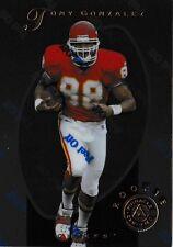 1997 Pinnacle Certified Football Trading Card Tony Gonzalez Cheifs Rookie #149