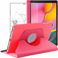 Etui Rotatif + VERRE Trempé Pochette Samsung Galaxy Tab A 10.1 2019 T510 T515