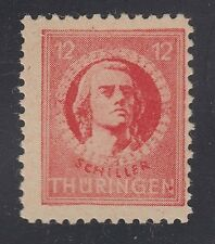 GERMANY, Soviet Zone, 1945. Thuringen, Mi 97AX, V, Mint **