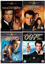 Pierce Brosnan DVD Collection James Bond 007 All 4 Movie Films Brand New UK R2