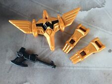 BANDAI POWER RANGERS BLACK RANGER DINO FLYER ( ACCESSORY PARTS LOT ) USED
