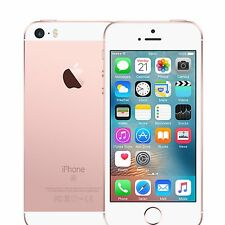 "Apple iPhone SE 32GB 4"" 12MP Unlocked SIM-Free Smartphone in Rose Gold Pristine"