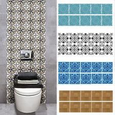 10Pcs Kitchen Waterproof Art  Wall Sticker Decal Self Adhesive Tile Sticker home
