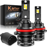 Upgraded 9007 KIT XENON LED 200W 30000LM AMPOULE CREE BLANC VOITURE FEUX PHARE