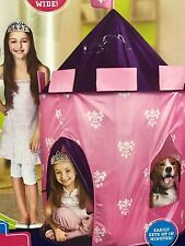 Discovery Kids Princess Play Castle Tent Fort Pink Distressed Box