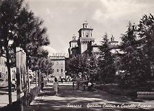 FERRARA - Giardini Cavour e Castello Estense 1958